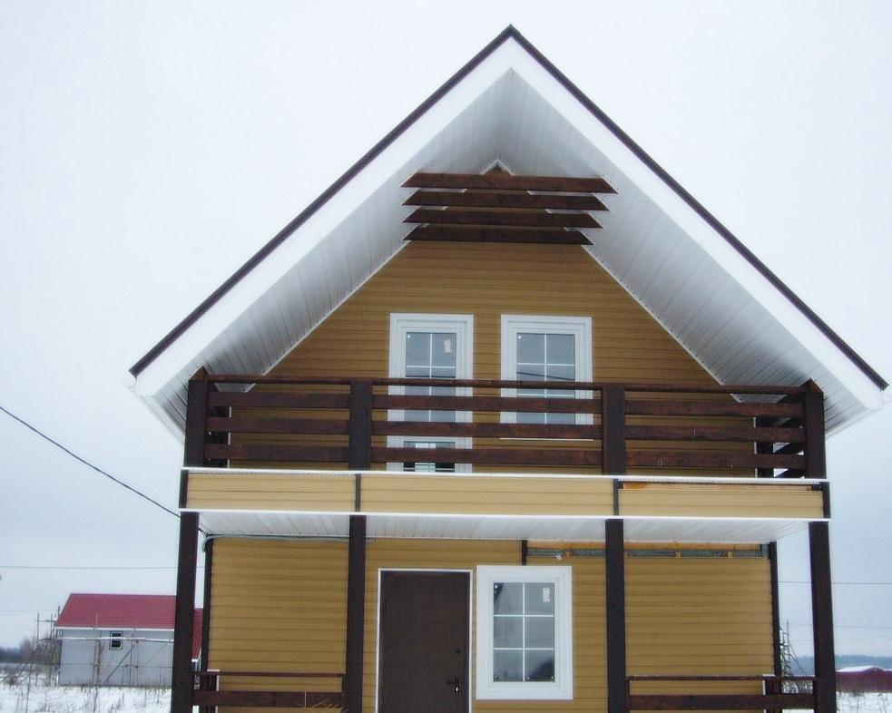 Каркасный дом в Кавголово (3)