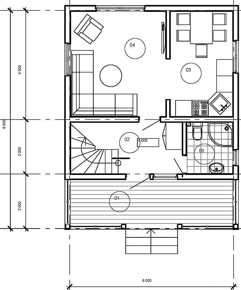 Каркасный дом в Кавголово (7)