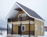 Каркасный дом в Кавголово (4)